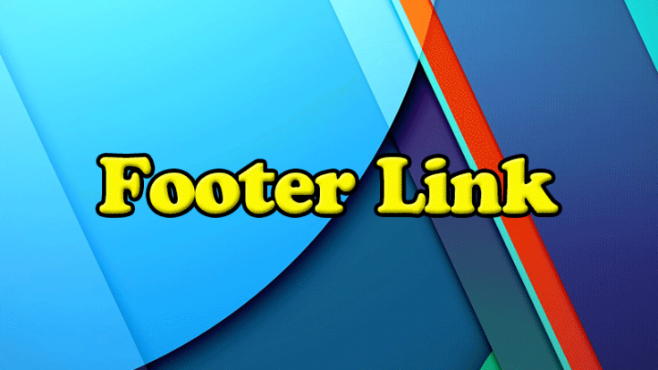 Footer Link